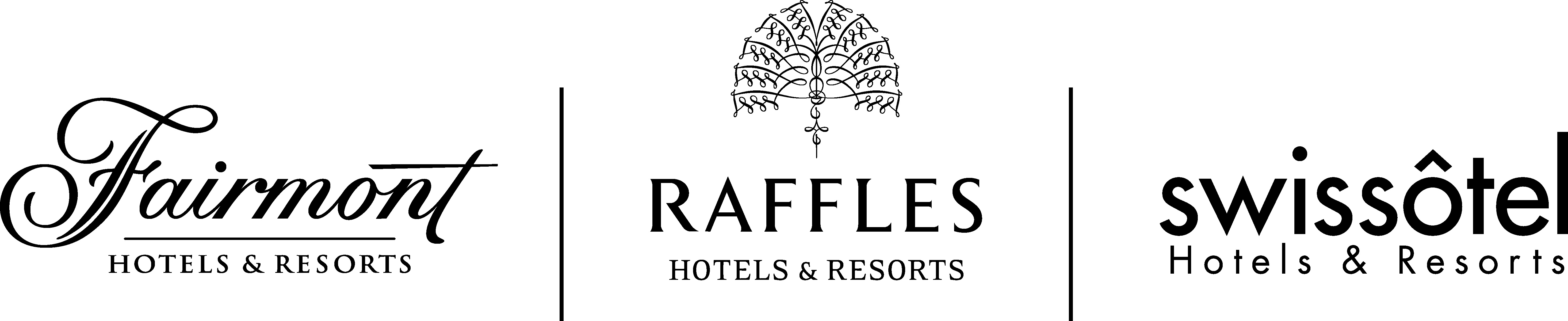Fairmont Raffles Swissotel logos